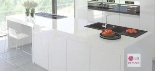 Hi macs kitchen worktops