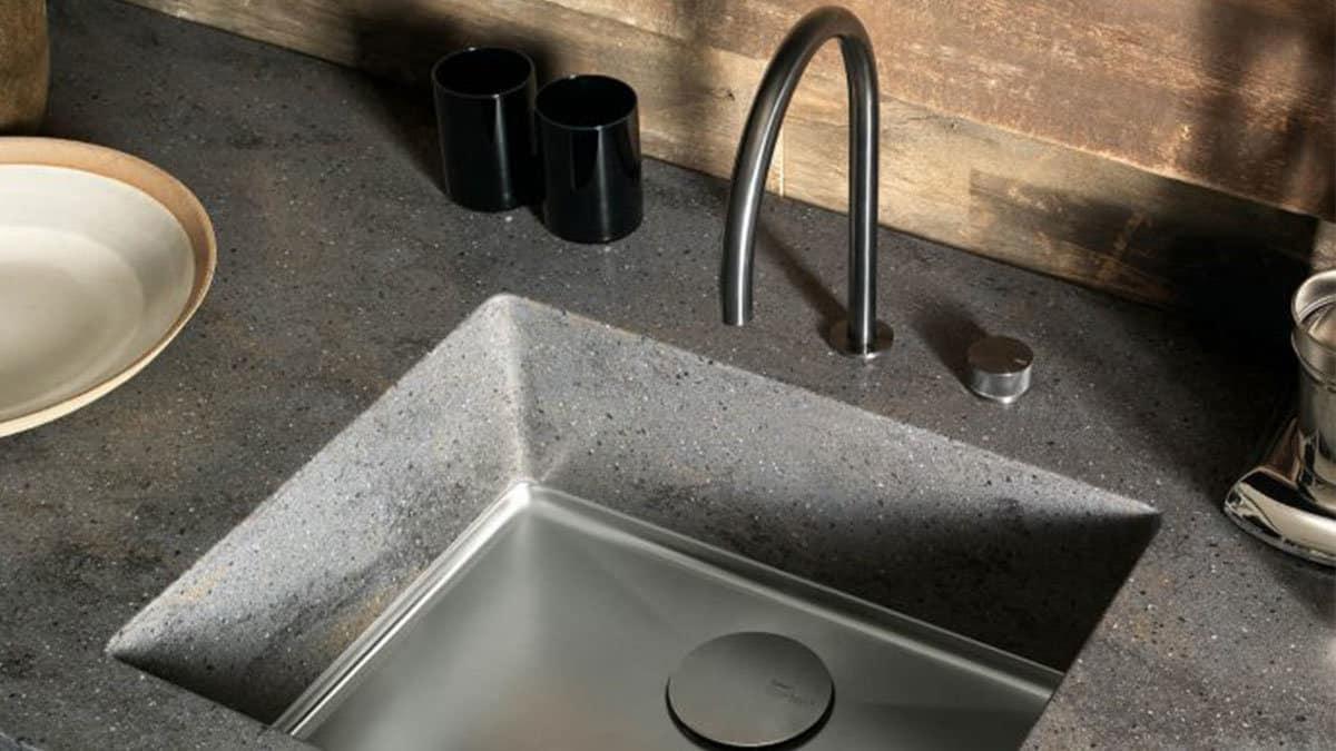 Corian sparkling sink